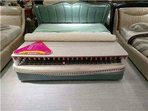 优迪沙发,梦腾真皮软床专卖