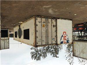 出售二手冷藏集�b箱、集�b箱�k公室