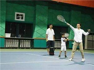 龙8国际星源网球暑期班开始啦!