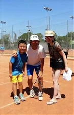 威尼斯人平台星源网球暑期班开始啦!