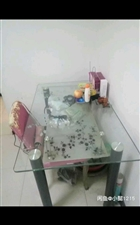 玻璃双层饭桌
