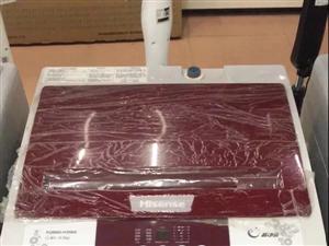 海信全自动洗衣机没拆箱抽奖得到用不到便宜甩