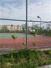 网球场上锁