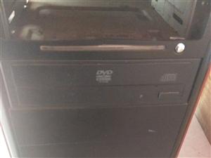 出售双核电脑主机正常使用中
