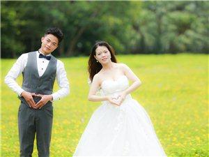 拍婚纱照的