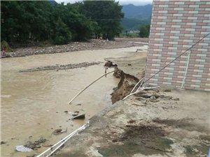 我们宁远清水桥荷叶塘受灾好严重啊