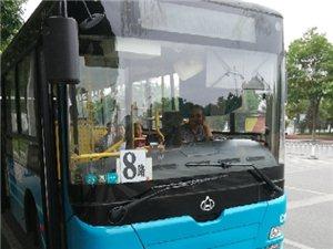 7月23日下午5.20武威农垦十字往十路医院方向,没素质公交司机一枚,离站20米前面有车停了一下,直