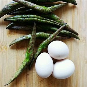 荷叶炒鸡蛋