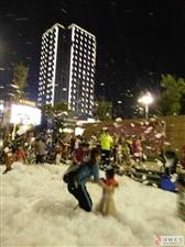 昨天,就在昨天浦城下了一场大雪。