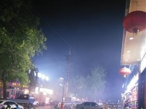 太原市杏花岭区坝陵北街晚上乌烟瘴气