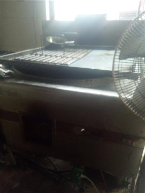 现有不锈钢天然气灶一台(带锅),尺寸长1...