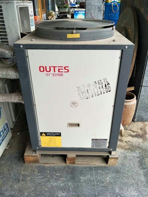 现有9成新空气能加3吨水罐转让出售,新买...