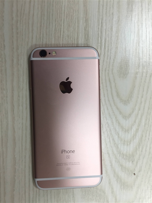 iPhone6s玫瑰金64G用了一年,屏...