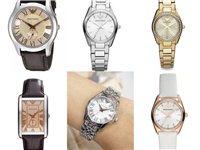 全新正品阿玛尼手表三折起售,支持全球专柜...
