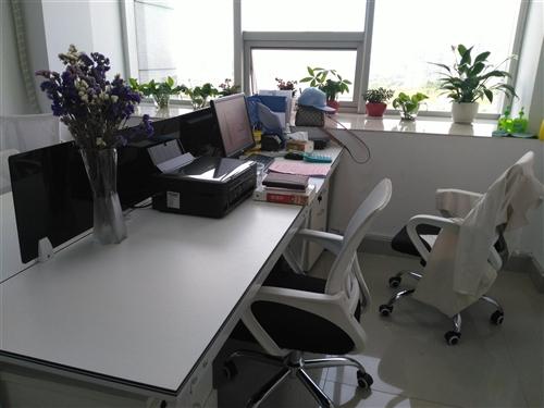 寶貝有6套辦公桌(含椅子柜子),一套小沙...