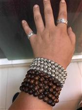 出售雪花银,重219克,手链。可做项链戴...