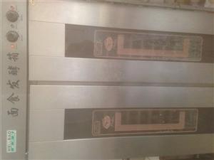 现一套制作老北京千层饼机器,双层燃气烤箱...