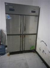 餐厅厨房专用双开门,冷藏冷冻双用冰箱!另...