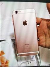 苹果6s玫瑰金64G 手机完好无损,配...