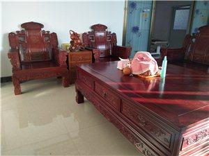 纯实木沙发桌子一套,价格面议诚信买的联系