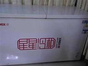 星星双温冰柜,小冷藏137L,大冷冻17...