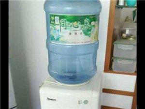 饮水机一台 自从我家买来就从来没有用过都...
