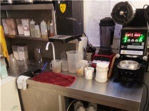 奶茶店操作台,1.8米,谈妥送奶茶保温桶