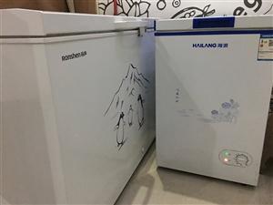 大冰柜和小冰柜,都可冷冻冷藏,大冰柜是容...