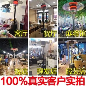 雅杰蓝伞形移动式商用家用煤气天然气取暖炉...