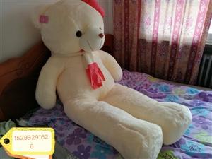 懒懒兔抱熊,米黄色1.6米,买来就打开看了下装好全新的。限同城自取