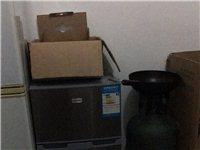 小冰箱,上层冷冻,下层冷藏,搬家不便,只...