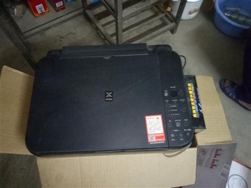 两台打印复印传真机一起700不讲价不包送...