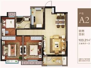 中南世纪城3室2厅1卫67万元