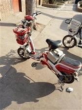 自用电动车好骑,车灯闸线脚蹬链条完好电池...