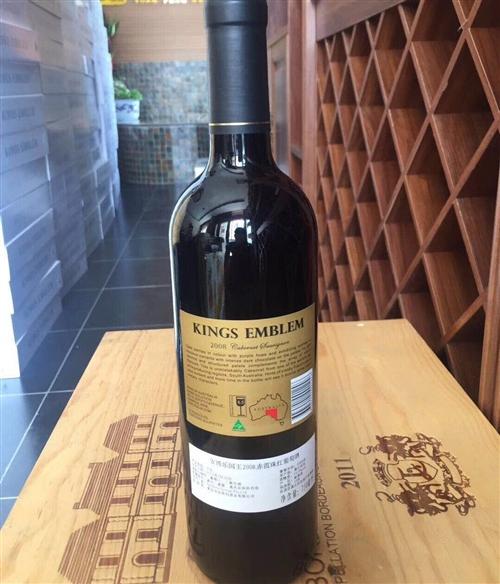 来自澳大利亚的国王赤霞珠红葡萄酒,价格优...