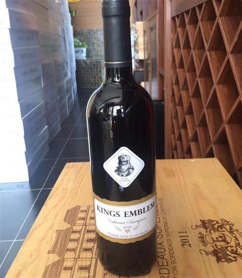 来自澳大利亚的国王赤霞珠红葡萄酒,网上性...