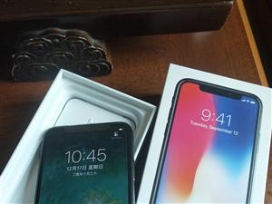 出售全新公司发的苹果X64G深空灰昨天激...