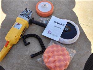 新买的抛光机 也可以当手提砂轮用  自己...