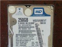 笔记本硬盘250g..100元    完好无损,正常拆机硬盘,西数蓝盘     邹城自取