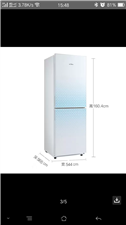 美的冰箱处理没用多长时间哦,现低价出售,