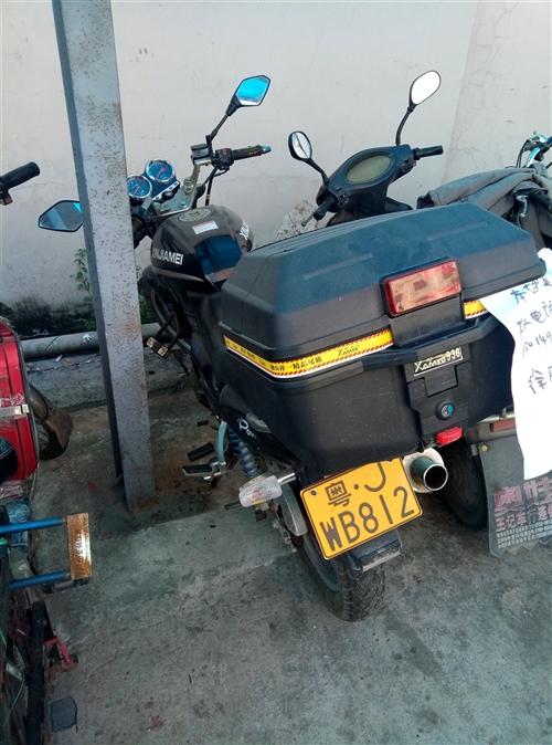 自用男士摩托車一輛出售,有意請與我聯系15014933371