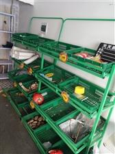 蔬菜水果货架,九成新,三层三个,四层两个