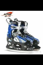 冰刀,溜冰鞋 保暖 男女通用 闲置,几乎全新,有意者拍下!保暖性好 ,有蓝色的36-39可调。