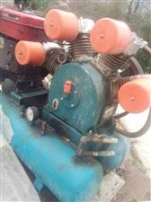 大型空压机带柴油机的