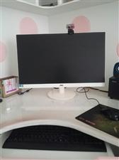 AOC27寸电脑显示器,型号I2769v白色无边框,美观大方,显示很清晰,大概8成新,550出,联系...