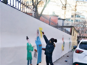 墙体彩绘喷绘
