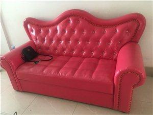 三人沙发,皮质表面,易清洗