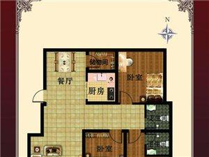 盛荣家园3室2厅2卫26万元