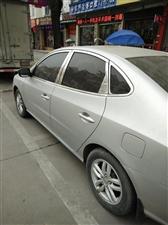 北京现代悦动小轿车