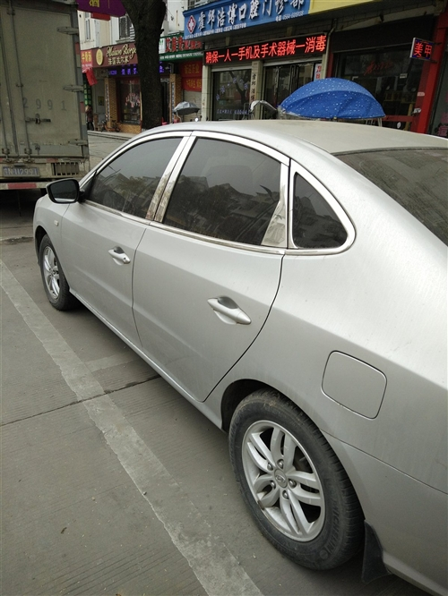我有一部北京现代小轿车要出售。13917831054